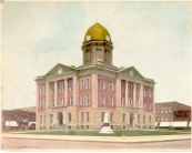 Moultrie County Courthouse, 1910