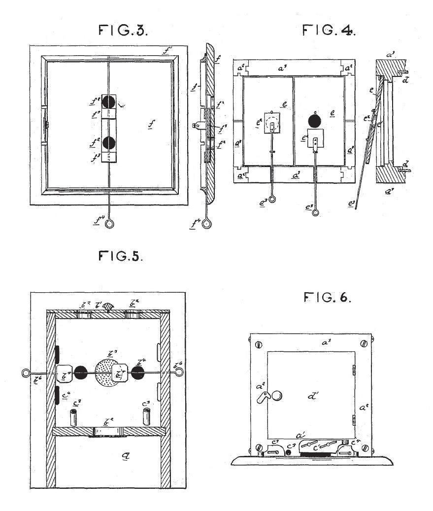Morgan Wright 1879 Patent Improvement In Bee Hives Beehive Phone Wiring Diagram Diagrams 3 To 6