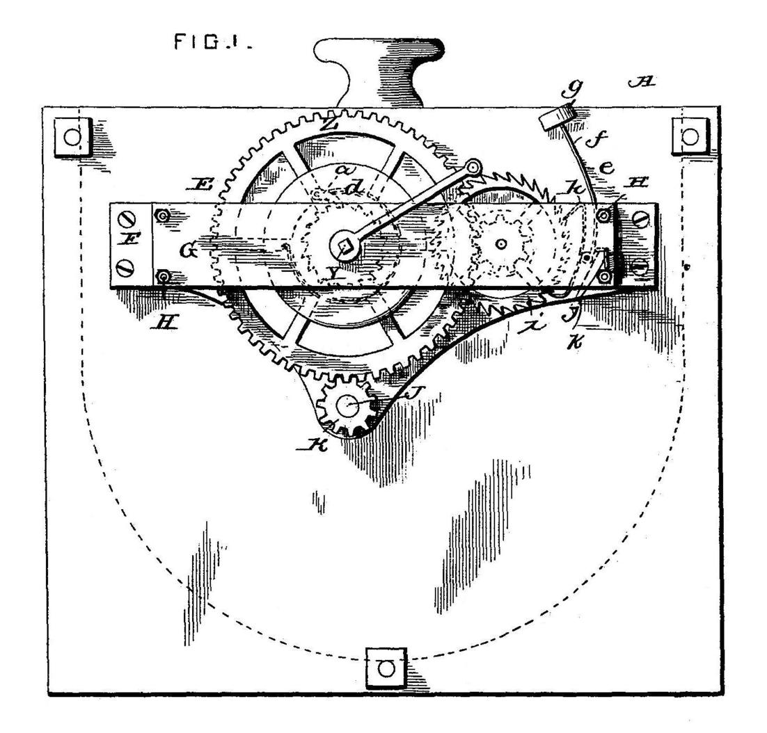 william h  and eddy g  monroe 1893 patent  motor