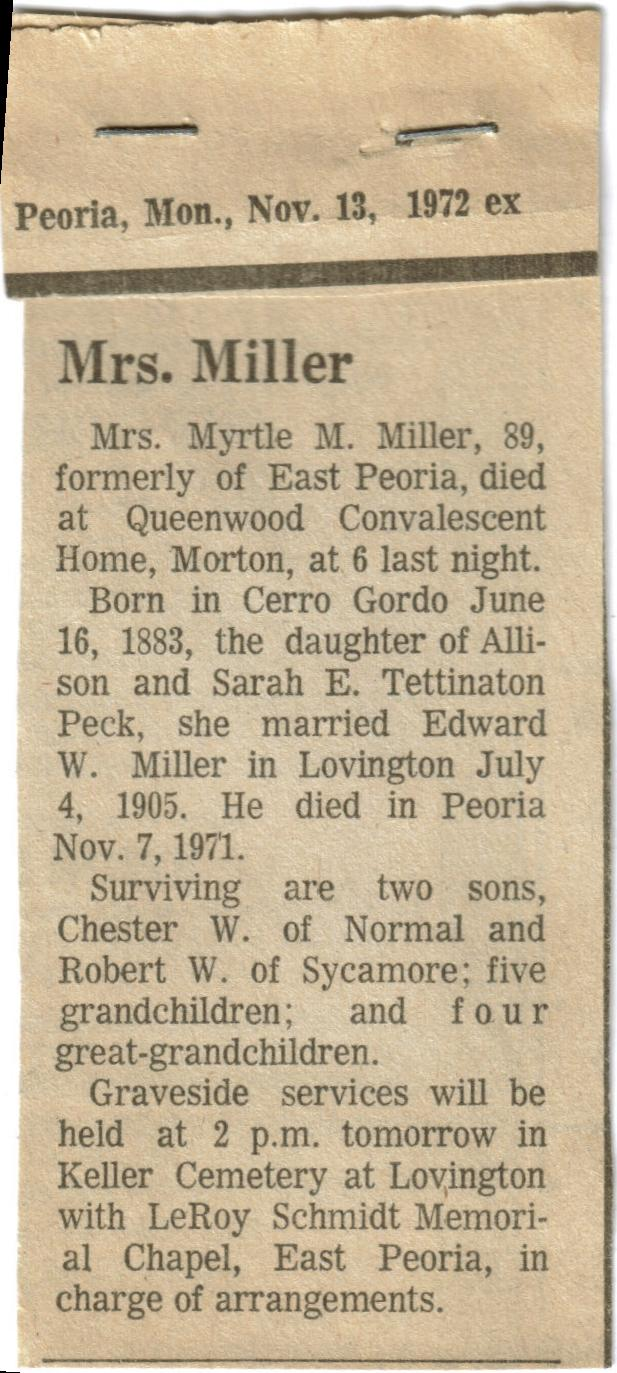 Moultrie Obituaries: G to R